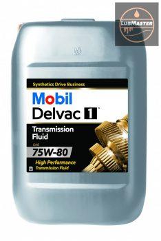 Mobil Delvac 1 Transmission Fluid 75W-80/20L