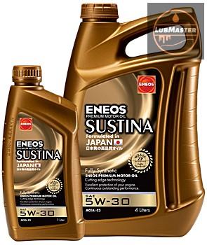 Eneos Sustina 5w30 1L/4L (API SN, ACEA C3)