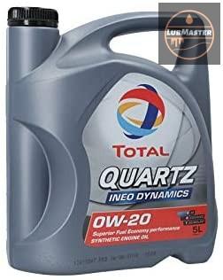 Total Quartz INEO Dynamics 0W20 1L/5L