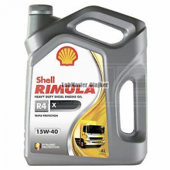 Shell Rimula R4X 15w40 5L (korábban Rimula R3X)