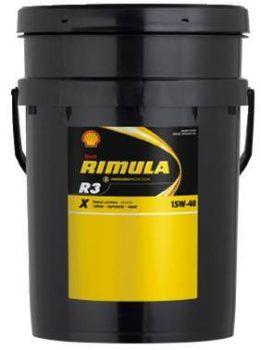 Shell Rimula R4X 15w40 20L (korábban Rimula R3X)
