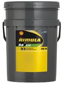 Shell Rimula R6LM 10w40 20L (korábban Rimula Signia)
