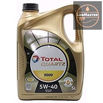 Total Quartz 9000 5w40 4L/5L