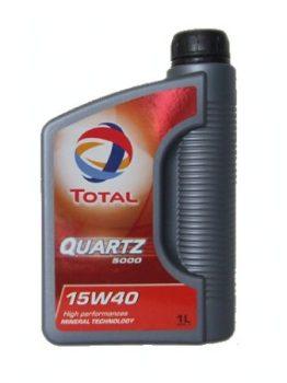 Total Quartz 5000 15w40 1L/5L