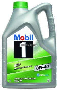 Mobil 1 ESP x3 0W40/5L